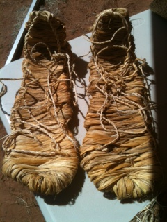 yucca fiber sandals