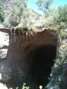 Tonto Natural Bridge.
