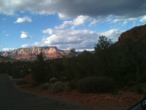 Cloudy afternoon in Sedona.