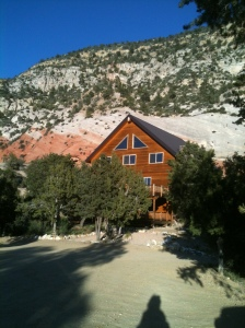 The XBarH Lodge in Orderville, Utah, outside Zion National Park